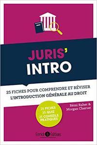 Juris Intro - 25 fiches pour comprendre et réviser l'introduction générale au droit